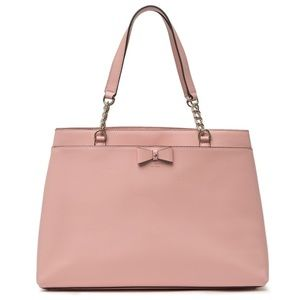 KATE SPADE Maryanne Tote Oversized Rosy Cheeks Bow